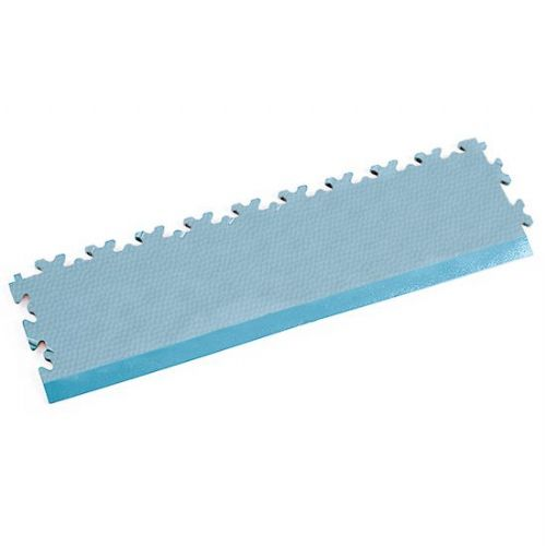 Light Blue Snakeskin - Interlocking Tile Edging